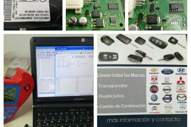 Programacion de Llaves Chip y de Proximidad